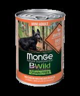 MONGE GRAIN FREE MINI ADULT ANATRA утка с тыквой и кабачками для собак мелких пород