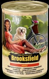 Brooksfield  Adult Dog говядина/индейка/коричневый рис