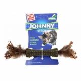 GiGwi ''Johnny Stick'' прессованная мята,перо с двух сторон