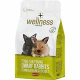 WELLNESS FOOD  полнорационный корм для молодых карликовых кроликов
