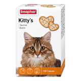 Beaphar Kittys Taurin and Biotin Витамины для кошек