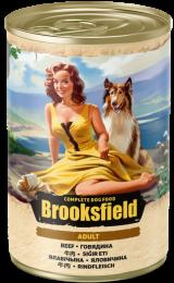 Brooksfield Adult Dog Говядина/коричневый рис
