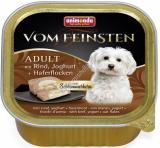 VOM FEINSTEN ADULT  меню для гурманов с курицей, йогуртом и овощами для собак
