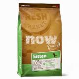 NOW Natural holistic беззерновой для котят с индейкой, уткой и овощами 33/20