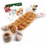 GiGwi игрушка для собак обезьяна с 19-ю пишалками