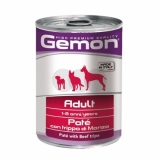 Gemon Dog консервы паштет говяжий рубец
