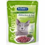 Dr.Clauder's Желе с курицей и уткой для кошек