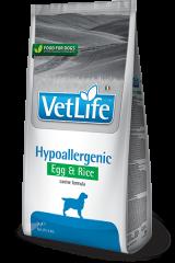 Farmina Vet Life Dog Hypoallergenic с яйцом и рисом