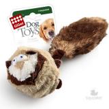 GiGwi игрушка для собак Барсук с 2-мя пищалками внутри теннисный мяч с пищалкой