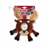GiGwi игрушка для собак лось с  пишалкой