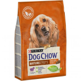 Dog Chow Mature Adult ягненок для собак старше 5 лет