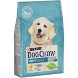 Dog Chow Puppy для щенков с курицей
