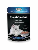 GINA  тунец/сардины