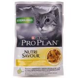 Pro Plan NUTRISAVOUR Sterilised (курица в соусе) 85г