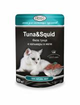 GINA тунец/кальмар