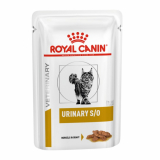 Royal Canin Veterinary Diet Pouch Urinary S/O Feline с курицей 85г