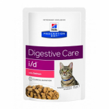 Hills Prescription Diet Feline i/d с лососем 85г