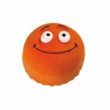 Hunter Smart игрушка для собак Смайлик оранжевый латекс