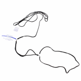 SHOW TECH нейлоновая ринговка 3 мм x 121 cм круглая