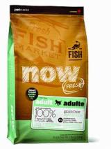 NOW Natural holistic Беззерновой для малых пород всех возрастов с форелью, лососем и овощами