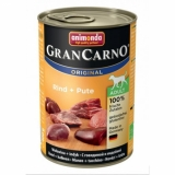 GRAN CARNO Original  ADULT  консервы с говядиной и индейкой для взрослых собак