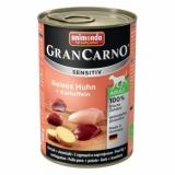 GRAN CARNO SENSITIV  с курицей и картофелем  с чувствительным пищеварением