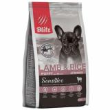 Blitz Puppy Lamb & Rice All Breeds для щенков всех пород