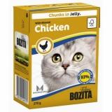 Bozita in Jelly with Minced Chicken ( мясные кусочки в желе/рубленая курица)