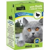 Bozita MINI Duck (мясные кусочки в желе/утка)
