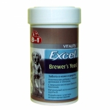 8in1 Excel Brewers пивные дрожжи д/собак всех пород