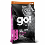 GO! Cat Solutions Skin+Coat Care All Life Stages с цельной курицей, фруктами и овощами