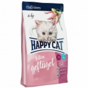 Happy Cat Supreme Kitten Geflugel с домашней птицей