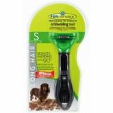 FURminator для собак мелких длинношерстных пород Long Hair Small Dog Carbon Design 4см