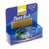 TETRA Тест 6в1 GH/kH/NO2/NO3/pH/CL2, 25шт
