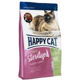 Happy Cat Supreme Adult Sterilised с пастбищным ягнёнком