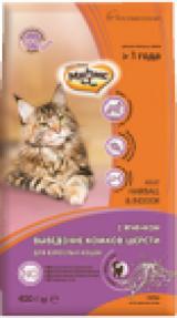 Мнямс Cat Adult Hairball & Indoor с ягнёнком