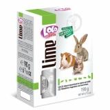 LO-минеральный камень для грызунов и кроликов натуральный