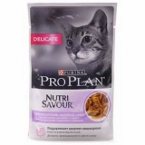 Pro Plan NUTRISAVOUR Delicate (индейка в соусе) 85г