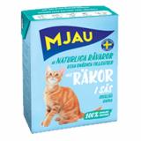 МЯУ корм для кошек мясные кусочки в соусе Креветки