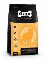 GINA Cat Rabbit & Rise для взрослых кошек с нормальным уровнем активности