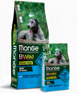 Monge BWild Grain Free All Breeds Adult Acciughe