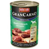 Animonda GranCarno Original Adult Dog с говядиной, олениной и яблоком