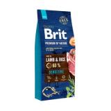 Brit Premium Lamb & Rice для всех пород