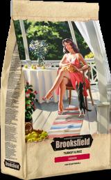 Brooksfield Cat Indoor с индейкой и рисом