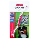 Beaphar Щетка для чистки зубов у собак двойная