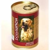 Dog Lunch мясное ассорти в желе