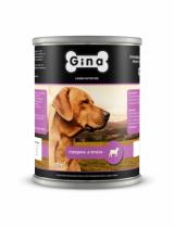 Gina для собак говядина и печень