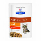 Hills Prescription Diet Feline k/d с курицей 85г