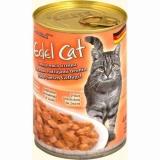 Edel Cat Нежные Кусочки в Соусе 3 вида мяса