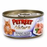PETREET NATURA Розовый тунец с макрелью